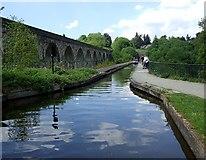 SJ2837 : Chirk Aqueduct by Rob Farrow