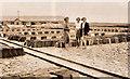 SX0783 : Delabole slate yard 1935 by Rev E V Tanner