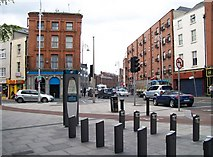 O1534 : Traffic island at the junction of Bolton, Capel and King Streets by Eric Jones