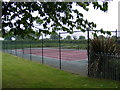 TG1507 : Little Melton Tennis Court by Adrian Cable