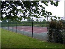 TG1507 : Little Melton Tennis Court by Geographer