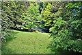 NZ2130 : River Gaunless, Bishops Park, Bishop Auckland by Paul Buckingham