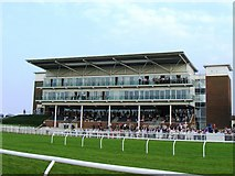 SE4248 : The Millennium Stand, Wetherby Racecourse by Stuart Shepherd