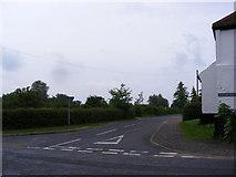 TG1508 : Hockering Lane, Bawburgh by Geographer