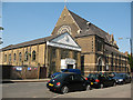 TQ3477 : Franciscan church and hall, Peckham by Stephen Craven
