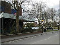 SP2871 : Station Road frontage, former Budgens Store, Kenilworth by John Brightley