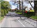 TM2565 : Chapel Road, Saxtead Little Green & Marlborough Heath Postbox by Adrian Cable