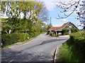 TM2565 : Chapel Road, Saxtead Little Green by Adrian Cable