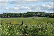 ST0107 : Cullompton: by Trumps Barn by Martin Bodman