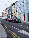 W7966 : Colourful houses, Harbour Hill, Cobh by Mac McCarron