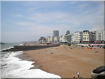 TQ3103 : Beach and Grand Junction Road, Brighton by Robin Sones