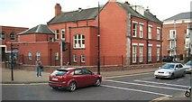 J0407 : Corner of Church Street and The Laurels, Dundalk by Eric Jones