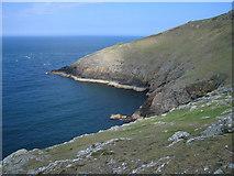 SH1325 : Headland view, Lleyn Peninsula by Dave Croker