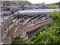 NT2673 : Waverley Station (East) by David Dixon
