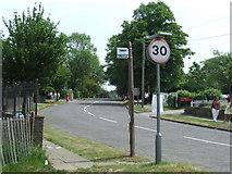 TQ2258 : Tattenham Crescent by Malc McDonald