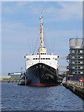 NT2677 : HMY Britannia by David Dixon