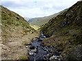 NN6241 : The Allt a' Chobhair runs in a narrow gorge by Richard Law