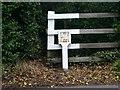 SP1885 : Esso liquid fuel pipeline marker by David P Howard