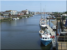TQ0202 : River Arun at Littlehampton by Malc McDonald