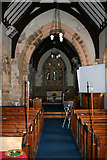 SK3030 : The Nave, All Saints Church by Kate Jewell