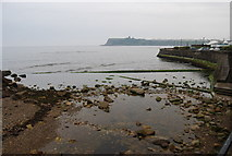TA0390 : Mouth of Scalby Beck (Sea Cut) by N Chadwick