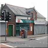 ST1067 : Vale Street Post Office, Barry by Jaggery