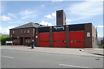 SJ3588 : Toxteth fire station by Kevin Hale