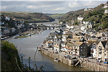 SX2553 : East Looe River, Cornwall by Graham Hogg