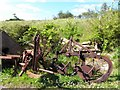 C2328 : Rusting farm implements, Glenalla (1) by Kenneth  Allen