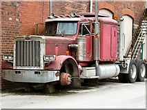 SD9321 : Peterbilt Truck at Jubilee Mill by Gerald England