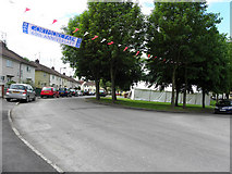H4473 : Gortmore Park celebrations, Omagh (1) by Kenneth  Allen