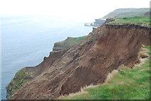 TA1281 : Boulder clay Cliff near Filey Brigg by N Chadwick