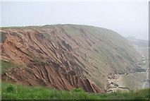 TA1281 : Badlands topography, Filey Brigg by N Chadwick