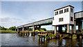 C8433 : Railway bridge, Coleraine (2) by Albert Bridge