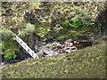 NB2910 : Bridge over Abhainn Gleann Airighean Dhomhnaill by Mike Dunn