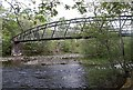 NH3000 : Footbridge (disused) over the Garry at Invergarry by Anthony O
