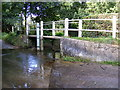 TM3861 : Ford and the River Fromus at Benhall Green by Adrian Cable