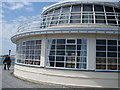 TQ1502 : Pavilion at end of Worthing Pier by Paul Gillett
