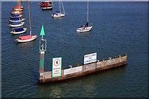 SZ3394 : The entrance to Lymington Harbour by Steve Daniels