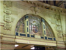 TQ3179 : London: LSWR inscriptions at Waterloo Station by Chris Downer