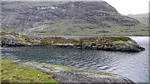 NG4820 : Islet in Loch Coruisk from the southern shore by Anthony O'Neil