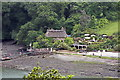 SW8440 : Tolverne Cottage as seen from Halwyn by Fred James