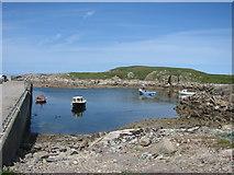 C1544 : Ballyhooriskey Harbour by Willie Duffin