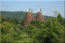 TQ5160 : Sepham Oast, Filston Lane, Otford, Kent by Oast House Archive