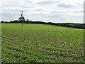 SJ7964 : Fields adjoining Bagmere Lane by Peter Whatley