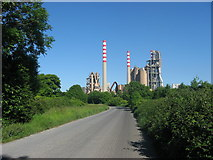 O0671 : Cement works, Platin, Co. Meath by Kieran Campbell