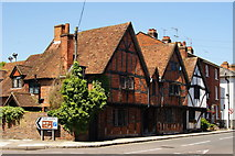 SU3521 : The Manor House, Romsey, Hampshire by Peter Trimming