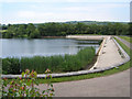 ST5855 : Dam at Litton Reservoir by Rick Crowley