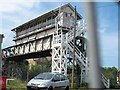 TR1458 : Canterbury West signalbox (2) by Stephen Craven