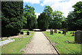 TG2104 : All Saints, Keswick, Norfolk - Churchyard by John Salmon